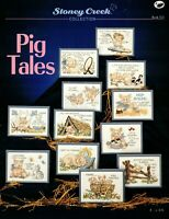 Pig Tales 12 Fun Counted Cross Stitch Patterns By Stoney Creek