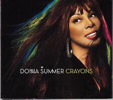 Donna Summer CD Crayons - Card sleeve - Europe (EX+/EX+)
