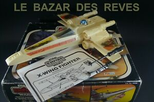 "KENNER PALITOY 1980. STAR WARS. X-WING ""Battle damaged"". + Boite."
