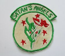 PATCH_  433rd Tactical Fighter Squadron SATAN'S ANGELS PATCH