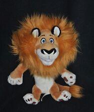 Peluche Doudou Lion Alex Madagascar 3 DREAMWORKS 2012 Disney Jaune Rouille