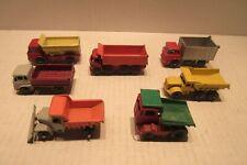 New Listing7 Matchbox Lesney Dump Trucks Bedford 7.5 Ton Tipper Gmc Tipper Snow Plough