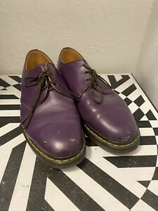 DOC Dr Martens Made in England Purple Size: 7