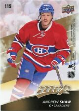 17/18 UPPER DECK MVP BRAD MARCHAND PUZZLE #119 ANDREW SHAW CANADIENS *37028