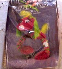 A Latch Hook Creation Kit Puppet Pals Priscilla Dog Puppet Marionette Nip 1992