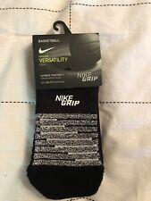 Nike Elite Grip Versatility Basketball Crew Socks Size L SX5624-010 NWT