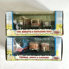 Thomas the Tank Engine & Friends Shining Time Station Train Set, Lot Of 2 NEW