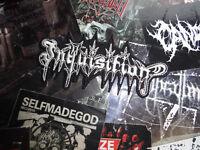 Inquisition Shape Patch Black Metal Horna Tsjuder