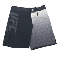 UFC Ultimate Fighting Championship Shorts Men's Size 34 Black Gray