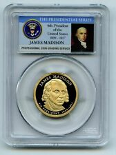 2007 S $1 James Madison Dollar PCGS PR70DCAM