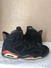 d2400ab3825005 Air Jordan Retro 6 VI Size 9.5 Black Varsity Red 2009 Infrared 2014 2000  1991