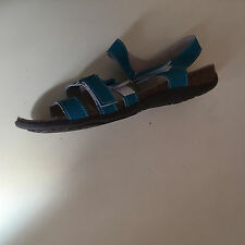 Ladies Leather Casual Slip on Summer Sandals Mules Shoes by Coolers SIZE 7