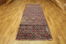 OLD WOOL HAND MADE PERSIAN ORIENTAL FLORAL RUNNER AREA RUG CARPET 276X92 CM