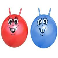 Large INFLATABLE SKIPPY SPACE HOPPER BOUNCING JUMPING BALL KIDS FUN GARDEN GAME