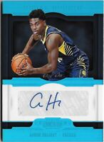 Z3) 2018-19 Panini Dominion Aaron Holiday Platinum Auto RC 1/1 Indiana Pacers