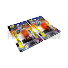 Polarg M1 Bl Hybrid 7440 Amber Orange Light Bulbs Lightbulbs Pair M-1 JDM