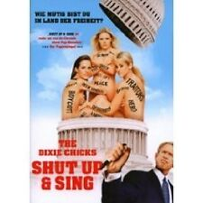 THE DIXIE CHICKS: SHUT UP & SING DVD DOKUMENTATION NEU
