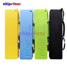 Portátil USB 18650 Cargador De Batería Banco de Alimentación Externo Caso Pack Caja Con Llavero