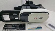 OCCHIALI MASCHERA 3D PER IPHONE SAMSUNG HTC SMARTPHONE VR BOX VIRTUALE GAME