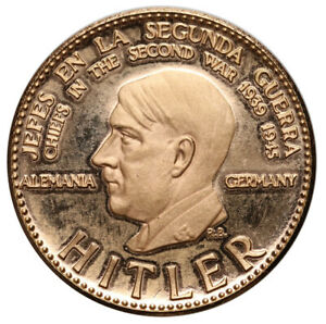 Venezuela, 1958, Chiefs in the Second World War - Hitler, 0.900 Gold