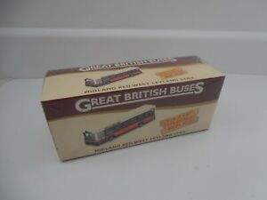 GREAT BRITISH BUSES MIDLAND RED LEYLAND DIECAST MODEL BUS 1:76 SCALE BOXED