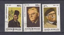Rumänien Briefmarken 1980 Jahrestage Mi.Nr.3727+28+30