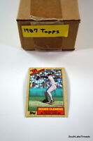 1987 Topps Baseball Hand Collated Complete Set 792 Cards w/Bonds McGwire Jackson