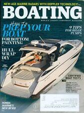 2016 Boating Magazine: Prep Your Boat for Bottom Painting/Hull Wrap DIY/Honda