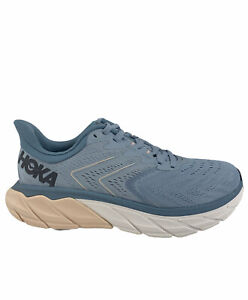 HOKA ONE ONE Arahi 5 Blue Fog/Provincial Blue Women's Running Shoes 6.5 D Wide