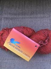 BLUE HERON RAYON METALLIC YARN Carnelian Red