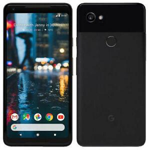 "Google Pixel 2 XL 64GB Black 4GB RAM 6"" Octa-core Phone By FedEx"