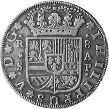 MUNT 8 REALES 1731 FELIPE V ESPAÑA getrouwe kopie COIN