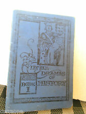 LITTLE DRAMAS OF HISTORY vintage SC 1930 Janet S Haig SCHOOL PLAYS