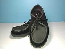 FitFlop 527-001 Suede Leather Lace Up Moc Toe Casual Shoes Womens Size 10