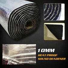 1.4m×1m 10mm Heat Sound Deadener Reducer Insulation Underlay Mat Car For Audi VW