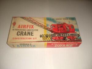 Airfix 13ton Diesel Locomotive Crane. Looks complete .no cotton