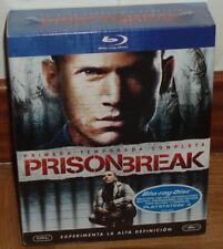 PRISON BREAK 6 BLU-RAY 1ª TEMPORADA COMPLETA NUEVO PRECINTADO (SIN ABRIR) R2