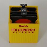 Polycontrast PC Filter Set w/ case For use w/ Omega Beseler enlargers - Set of 3