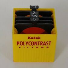 Polycontrast Pc Filter Set w/ case For use w/ Omega Beseler enlargers - Set of 3