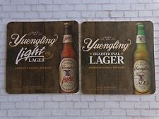 BEER COASTER ~ YUENGLING Brewery Traditional Lager ~ Pottsville, PENNSYLVANIA