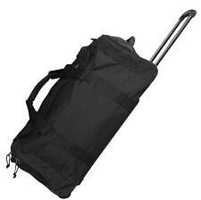 Trolley schwarz Reisetasche 70 Liter L Rolltasche Trolly Tasche Rucksack Koffer
