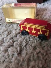 Vintage Holgate Toys Mr Mister Rogers Neighborhood Wooden Trolley Boxed 1991