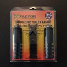 X Factor Supreme Split Limb Crossbow Dampening System Stabilizer Silencer Bow