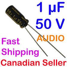 2pcs 1uF 50V 5x11mm Nichicon KW For Audio Equipment RADIO VIDEO STEREO HiFi DVD