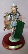 M E Duncan History Of Santa Claus 1990 Odin Figurine With Hangtag & Base