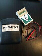 Data Logging Voltmeter Voltlogger With Case DLV-30 Battery Voltage Used