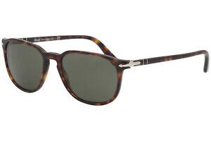 Persol Men's PO3019S PO/3019/S 24/31 Havana/Crystal Green Lens Sunglasses 52mm