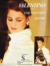 PUBLICITE ADVERTISING 055  1979  VALENTINO boutique sacs  ALLURE