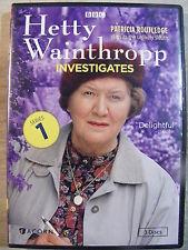 Hetty Wainthropp Investigates - Complete First Series (DVD, 2014, 3-Disc Set)