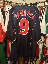 PSG Football Shirt 2003/04 Home XL ~ Pauleta 9